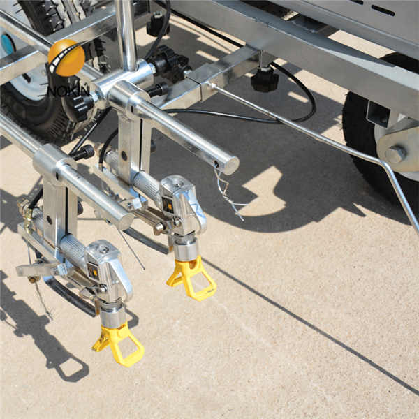 Buy Retractable Single mast aerial working platform