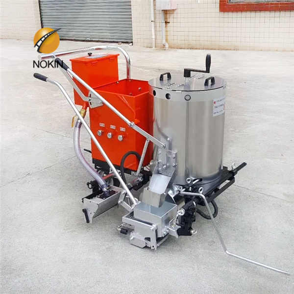 Pavement Hot Melt Road Marking Machine / Thermoplastic