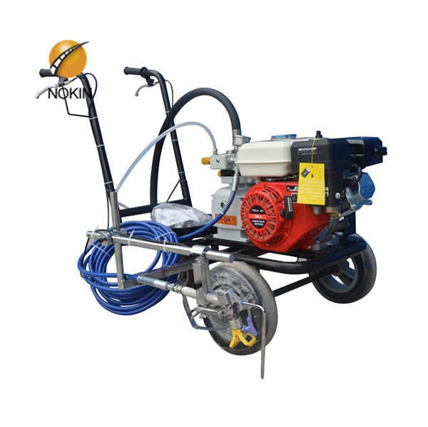 Hand Push Cold Spraying Road Machine Line Painting