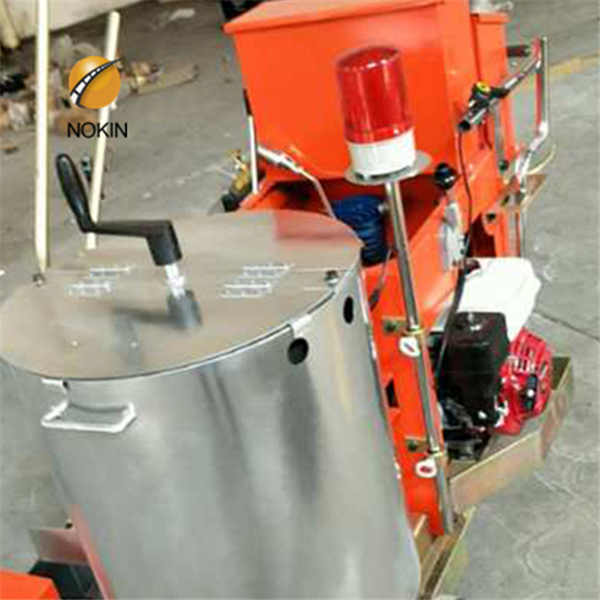 Automatic Paint Striping Machine For Rubber Pavement Favorable Price