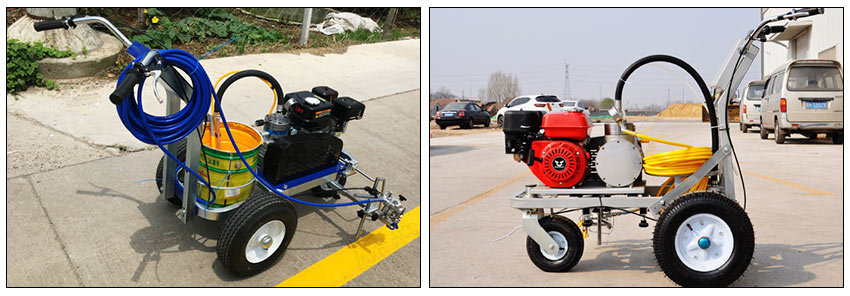 Cold Spray Road Marking Paint Machine